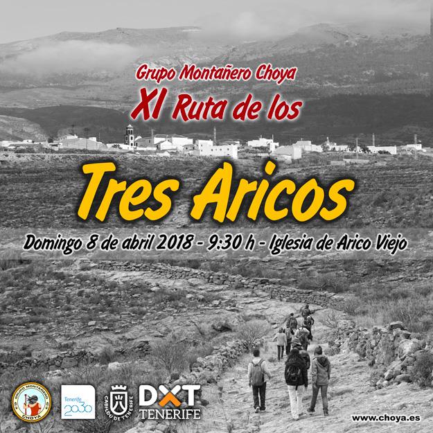 X Ruta de los Tres Aricos - Grupo Montañero Choya