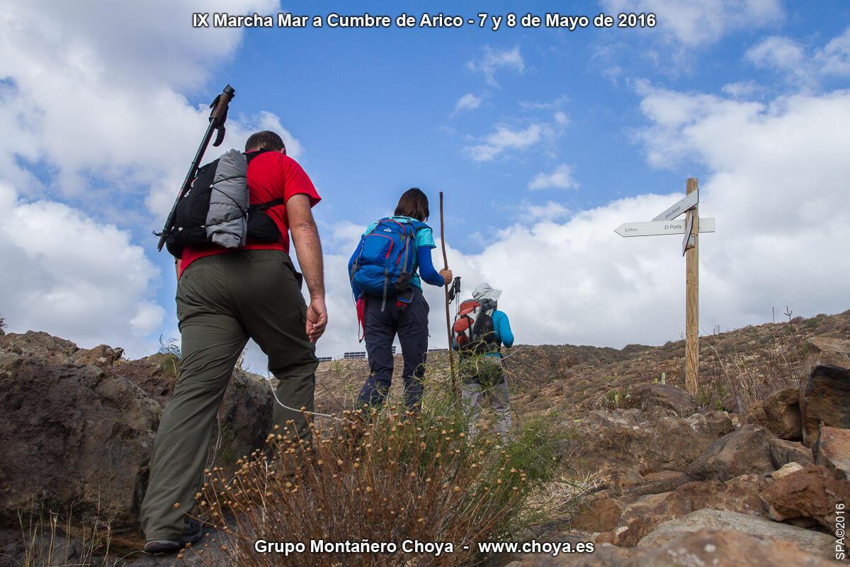 Calzada de la Fuente de Tajo - Senderos de de Arico, Tenerife