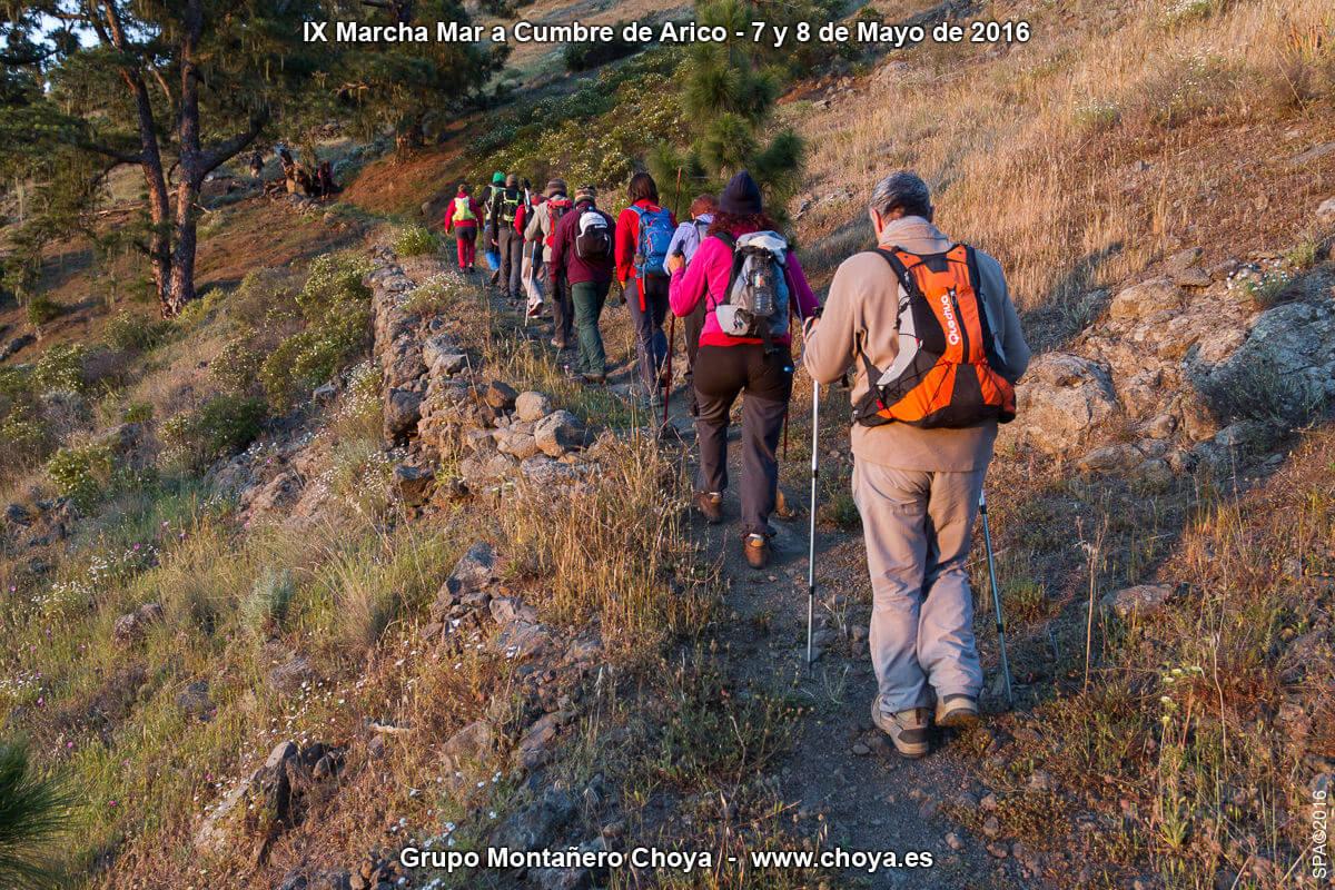 Cuestas del Cuchillo - PR-TF 86, Senderos de Arico, Tenerife