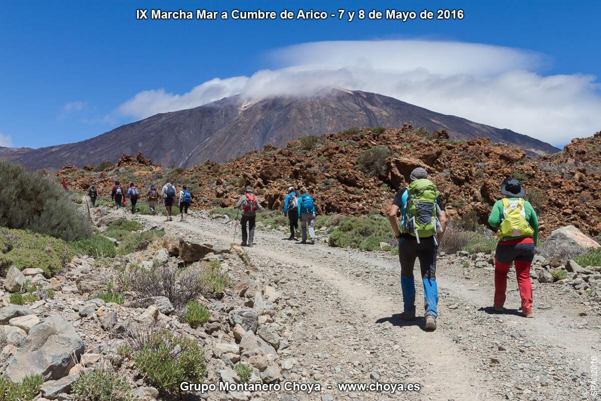 Pista de Siete Cañadas - PR-TF 86, Senderos de Arico, Tenerife
