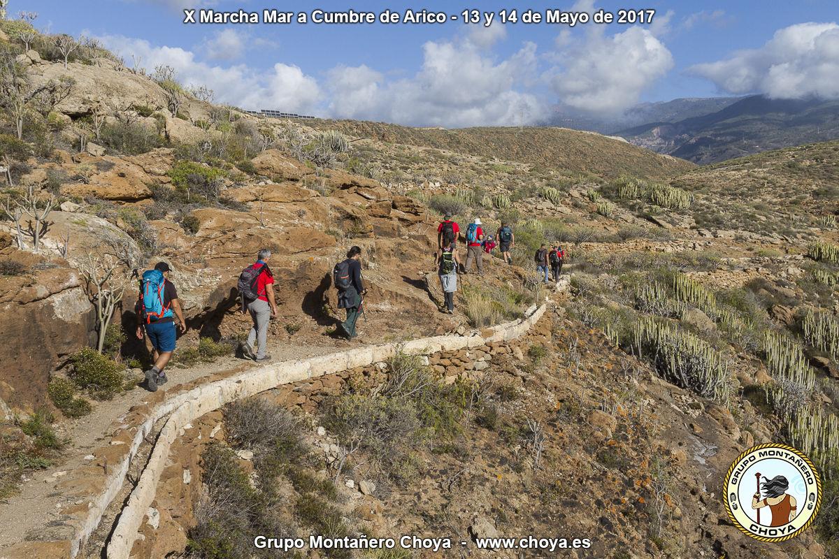 Cercanías de las Casas de la Luz y la Fuente de Tajo - Senderos de de Arico, Tenerife