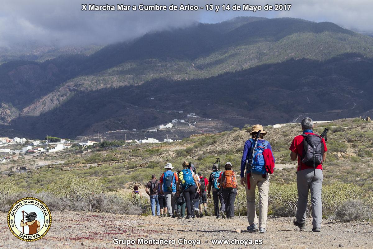 De camino a Arico Nuevo - Senderos de de Arico, Tenerife