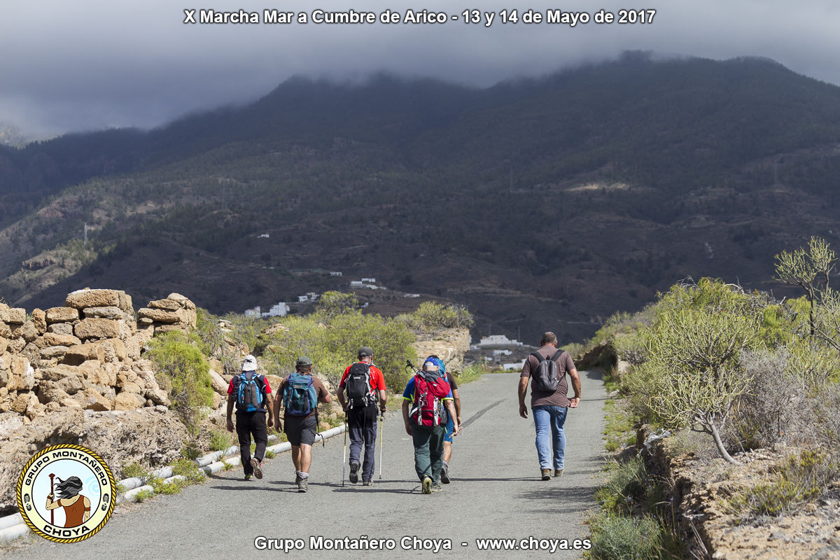 Llegada a Arico Nuevo - Senderos de de Arico, Tenerife