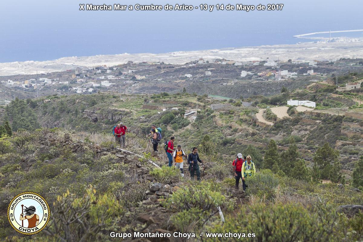 Lomo del Pino de la Linda - PR-TF 86, Senderos de Arico, Tenerife