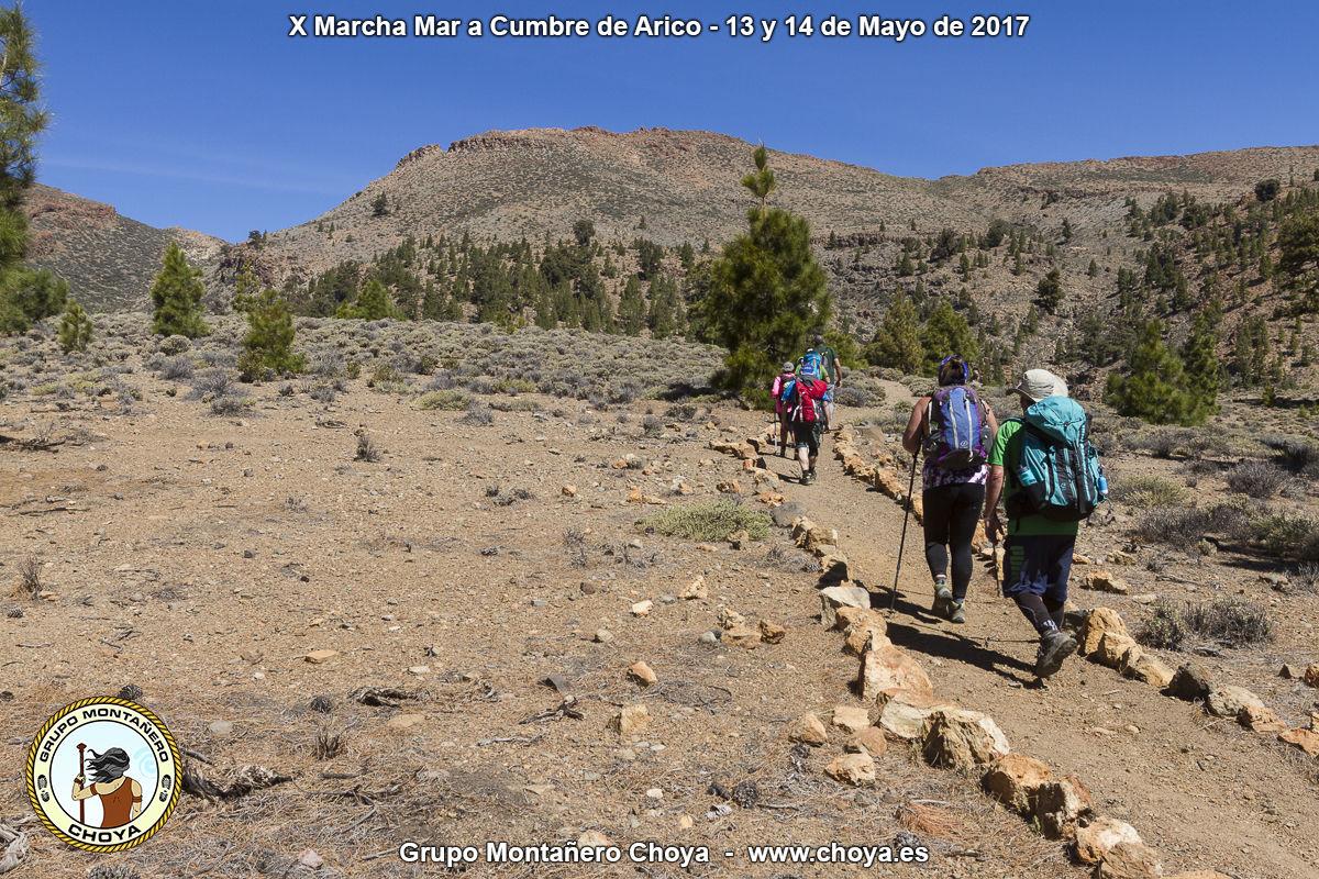 Sobre los Riscos, Chozas Viejas - PR-TF 86, Senderos de Arico, Tenerife