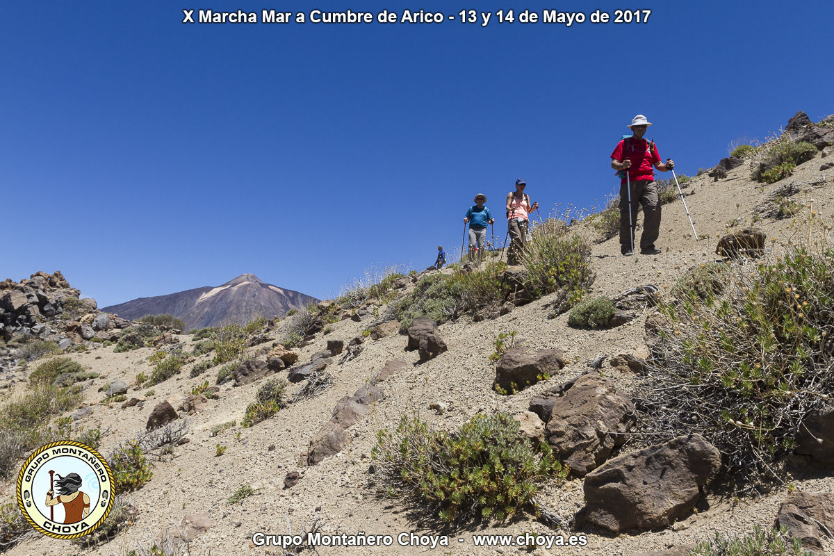 Degollada de Guajara - PR-TF 86, Senderos de Arico, Tenerife