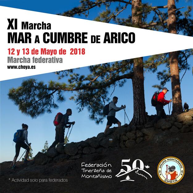 XI Edición de la Marcha Mar a Cumbre de Arico - Grupo Montañero Choya